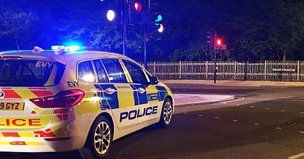 PHV DRIVER ROBBED BEFORE STOLEN CAR CRASHED IN NORTH WEST LONDON