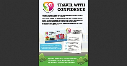 TRAVEL WITH CONFIDENCE FREE ONLINE TRAINING SCHEME IN PLACE FOR HERTS DRIVERS