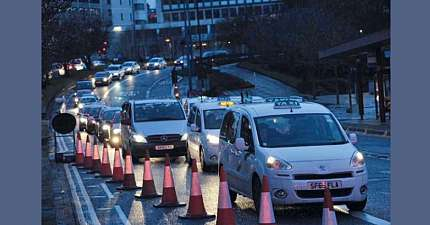 BRADFORD TAXI STRIKE IN MAY COULD CAUSE MAJOR DISRUPTION DURING EID