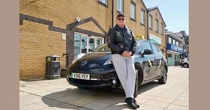 FIRST ALL ELECTRIC TAXI LICENSED IN TENDRING