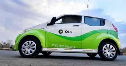 OLA LAUNCHES ELECTRIC VEHICLE CATEGORY IN LONDON