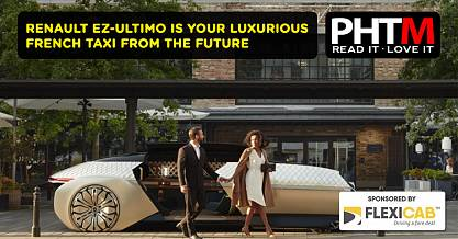 RENAULT EZ ULTIMO IS YOUR LUXURIOUS FRENCH TAXI FROM THE FUTURE