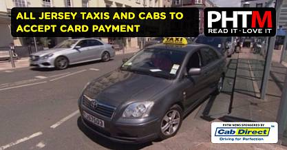 ALL JERSEY TAXIS AND CABS TO ACCEPT CARD PAYMENT