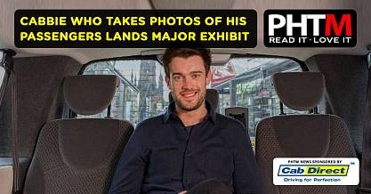 CABBIE WHO TAKES PHOTOS OF HIS PASSENGERS LANDS MAJOR EXHIBIT