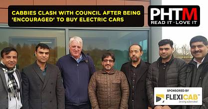CABBIES CLASH WITH COUNCIL AFTER BEING ENCOURAGED TO BUY ELECTRIC CARS