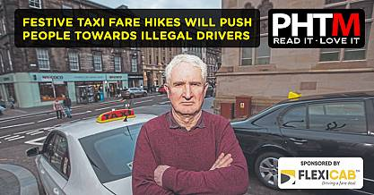 FESTIVE TAXI FARE HIKES WILL PUSH PEOPLE TOWARDS ILLEGAL DRIVERS