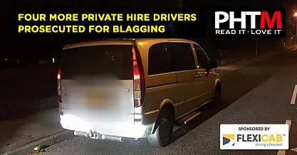 FOUR MORE PRIVATE HIRE DRIVERS PROSECUTED FOR BLAGGING IN MILTON KEYNES