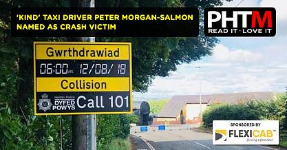 KIND TAXI DRIVER PETER MORGAN SALMON NAMED AS CRASH VICTIM