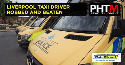 LIVERPOOL TAXI DRIVER ROBBED AND BEATEN