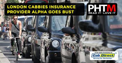 LONDON CABBIES INSURANCE PROVIDER ALPHA GOES BUST