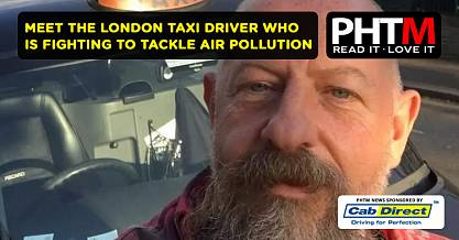 MEET THE LONDON TAXI DRIVER WHO IS FIGHTING TO TACKLE AIR POLLUTION