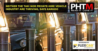NEITHER THE TAXI NOR PRIVATE HIRE VEHICLE INDUSTRY ARE THRIVING SAYS KARHOO