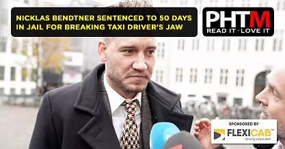 NICKLAS BENDTNER SENTENCED TO 50 DAYS IN JAIL FOR BREAKING TAXI DRIVERS JAW