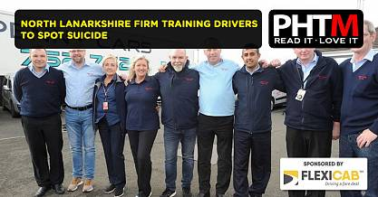NORTH LANARKSHIRE FIRM TRAINING DRIVERS TO SPOT SUICIDE