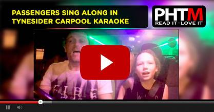PASSENGERS SING ALONG IN TYNESIDER CARPOOL KARAOKE