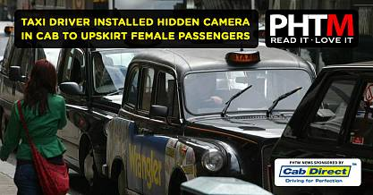 TAXI DRIVER INSTALLED HIDDEN CAMERA IN CAB TO UPSKIRT FEMALE PASSENGERS