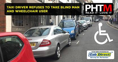 TAXI DRIVER REFUSES TO TAKE BLIND MAN AND WHEELCHAIR USER IN LATEST ST ALBANS DISCRIMINATION CASE