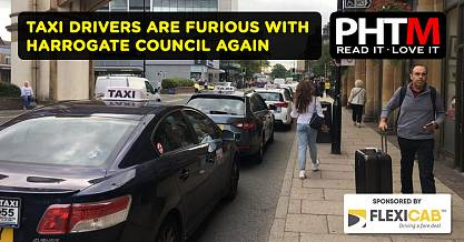 TAXI DRIVERS ARE FURIOUS WITH HARROGATE COUNCIL AGAIN