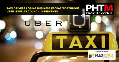 TAXI DRIVERS LOSING BUSINESS FACING 'TORTUROUS' UBER ISSUE AS COUNCIL INTERVENES