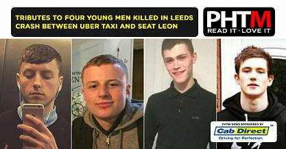 TRIBUTES TO FOUR YOUNG MEN KILLED IN LEEDS CRASH BETWEEN UBER TAXI AND SEAT LEON