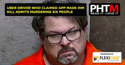UBER DRIVER WHO CLAIMED APP MADE HIM KILL ADMITS MURDERING SIX PEOPLE