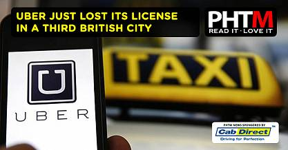 UBER JUST LOST ITS LICENSE IN A THIRD BRITISH CITY