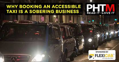 WHY BOOKING AN ACCESSIBLE TAXI IS A SOBERING BUSINESS