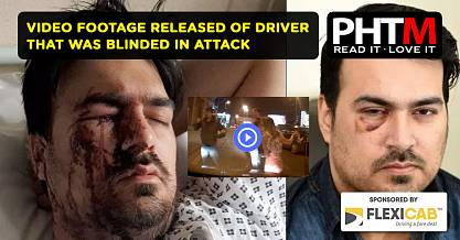 VIDEO RELEASED OF DRIVER THAT WAS BLINDED IN ATTACK