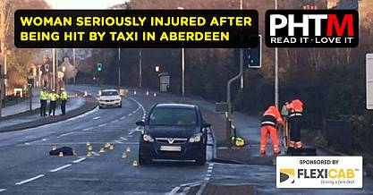 WOMAN SERIOUSLY INJURED AFTER BEING HIT BY TAXI IN ABERDEEN