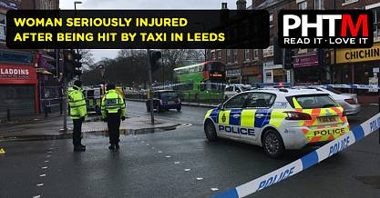 WOMAN SERIOUSLY INJURED AFTER BEING HIT BY TAXI IN LEEDS