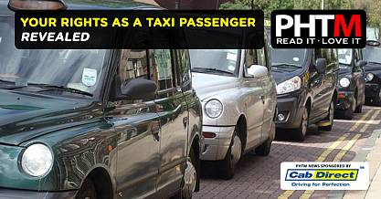 YOUR RIGHTS AS A TAXI PASSENGER REVEALED